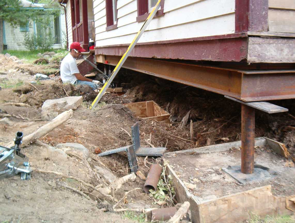 how to build a cottage foundation