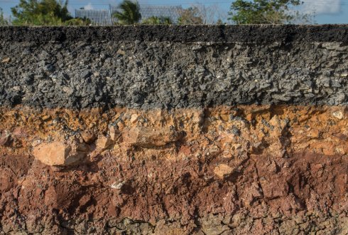 Executive Structural bedrock soil layers